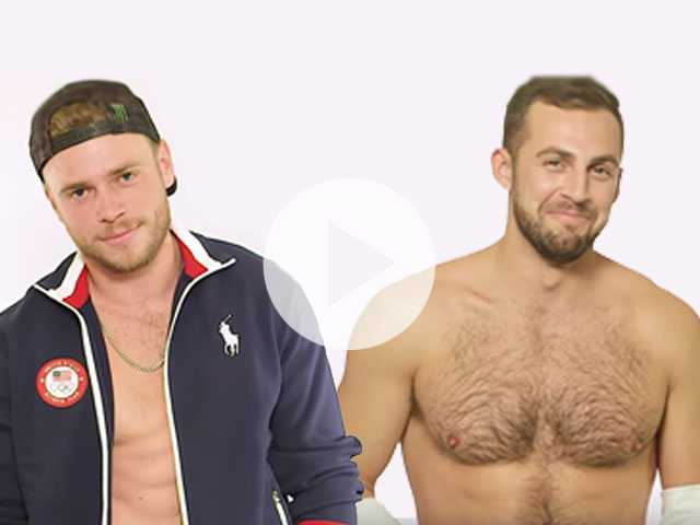 Watch: Gus Kenworthy and Other Olympians Strip to Make the Winter Games Hotter