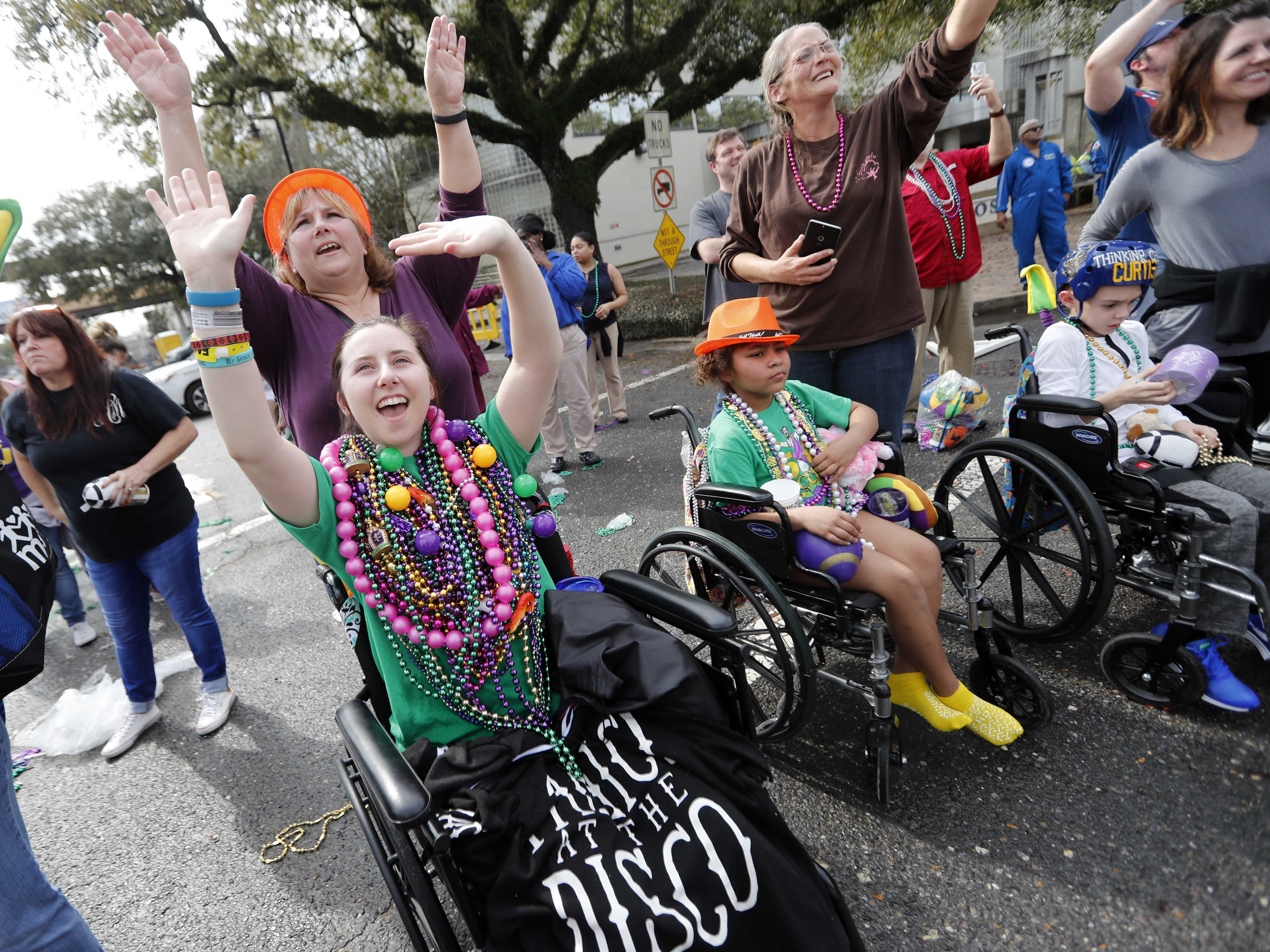 Mardis Gras Parade Honors New Orleans' Tricentennial