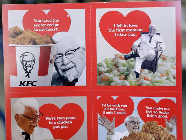Some Fries, Valentine? Fast Food Chains Aim for Sweethearts
