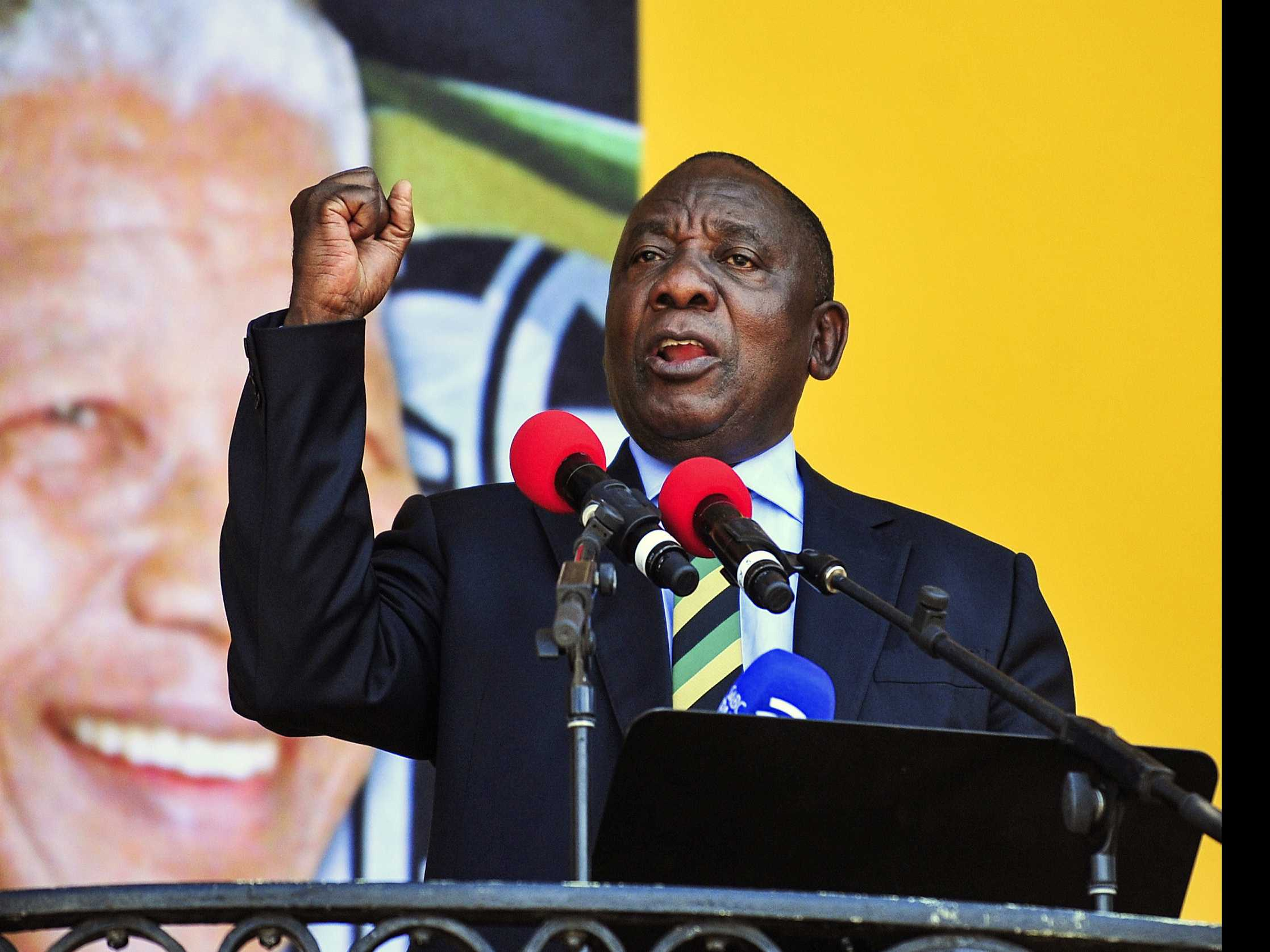 Ramaphosa Set to Become New South African President Thursday