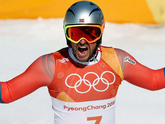 Svindal Wins Olympic Downhill to Become Oldest Alpine Champ