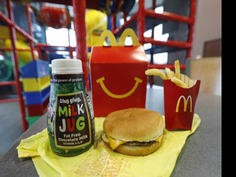McDonald's Slims Down Happy Meals