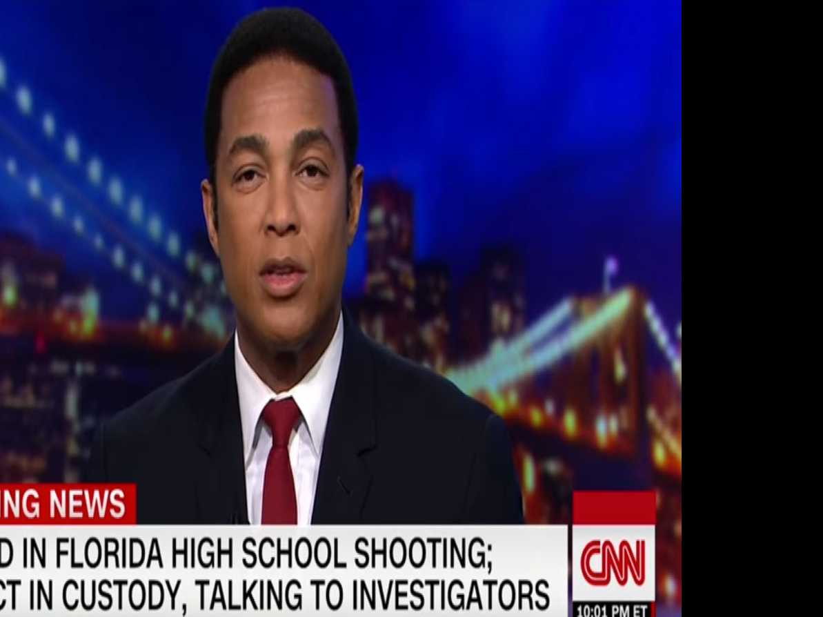 'Do You Feel Safe Tonight?' Asks CNN's Don Lemon in Response to Florida Shootings