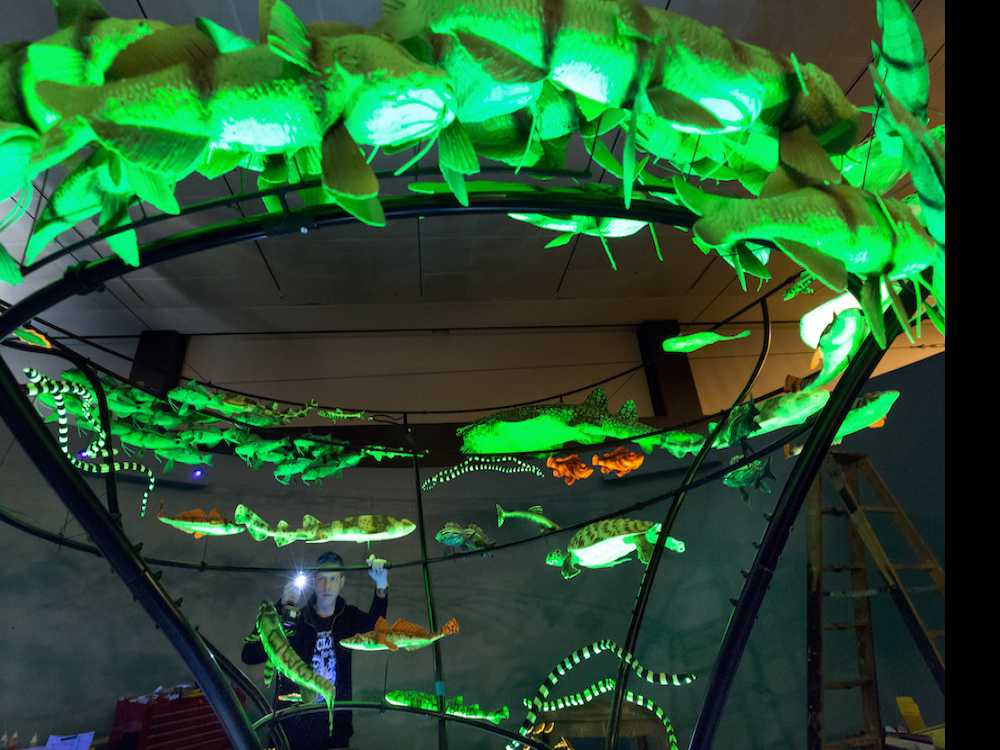 'Unseen' Exhibit to Depict Glow-in-the-Dark Creatures