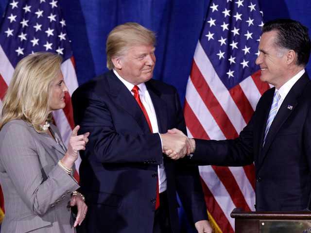 Trump Endorses Romney's Senate Bid - and Romney Accepts