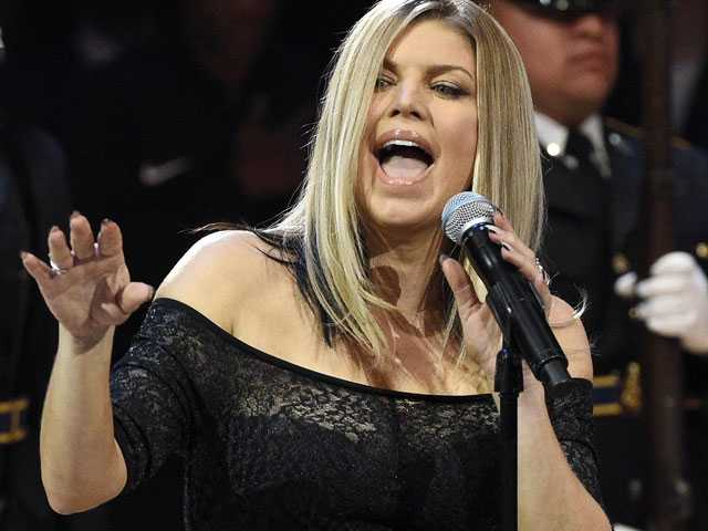 Fergie Says 'Tried My Best' After National Anthem Blowback