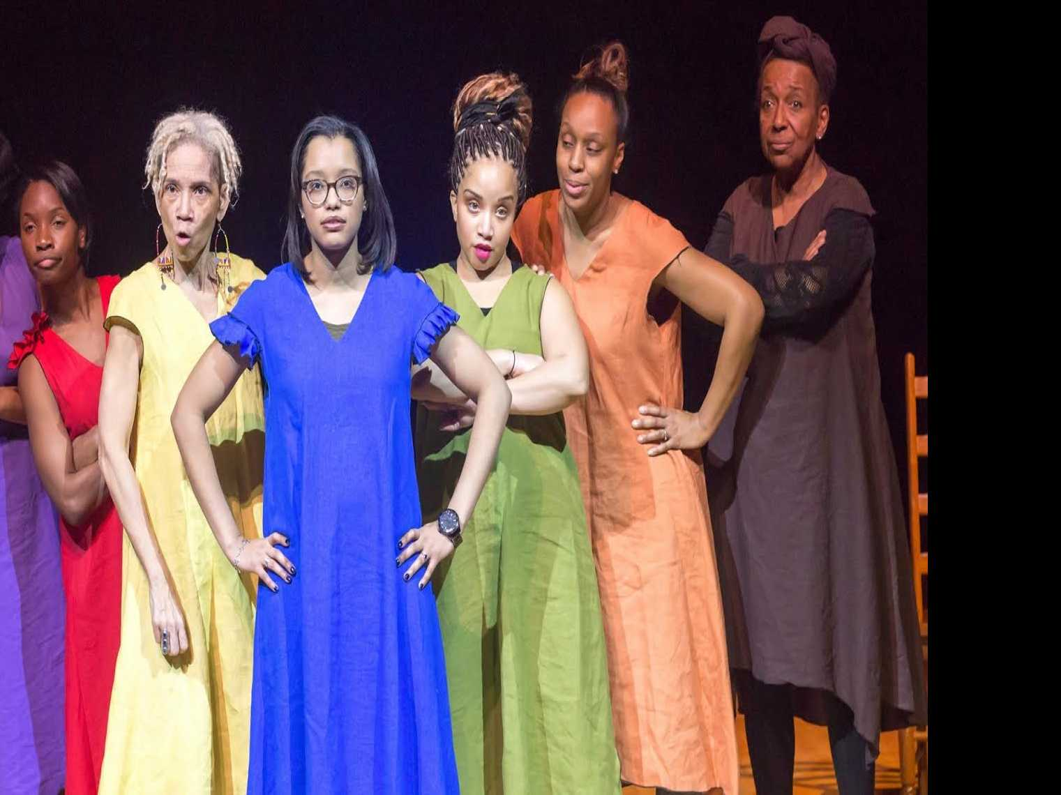 Review :: for colored girls who have considered suicide / when the rainbow is enuf