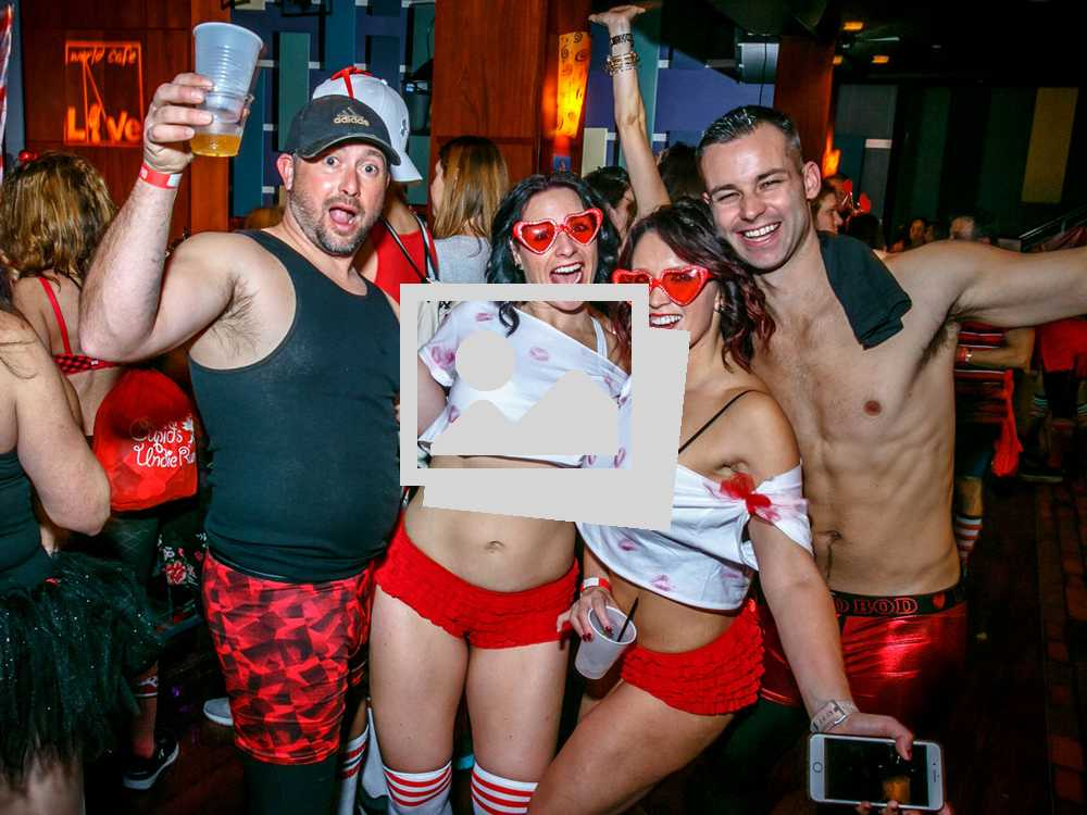 Cupid Undie Run @ World Live Café Philly