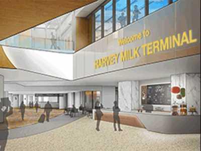 Farrell Supports Milk SFO Terminal Naming