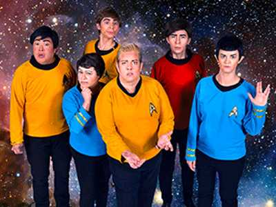 You Boldly Go, Girl! :: Gender-Bending 'Star Trek Live' at Oasis