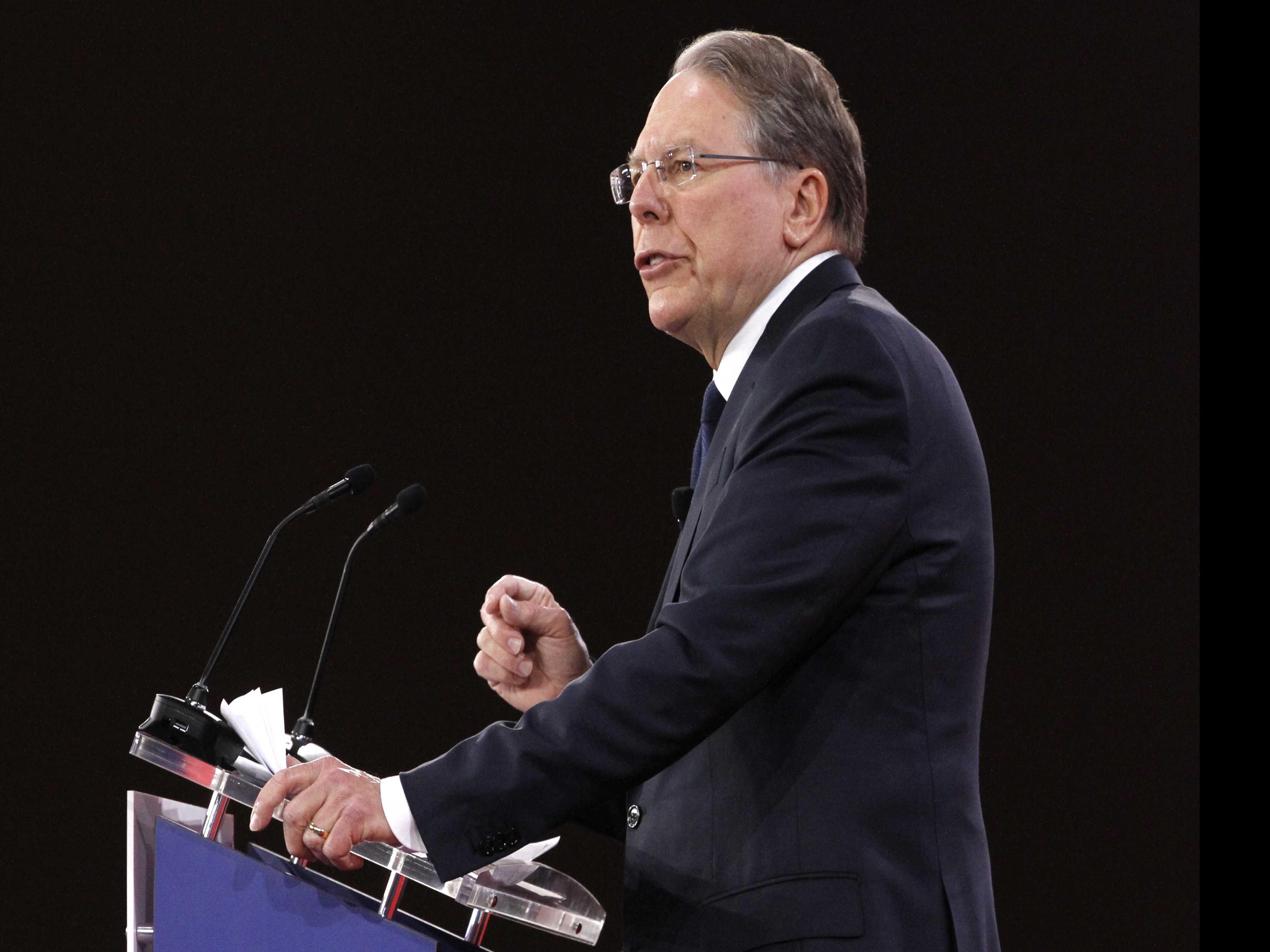 NRA Strikes a Defiant Tone, Criticizes Gun Control Advocates