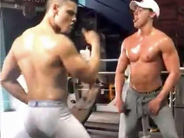 Watch: Video of Twerking Gym Bros Unsurprisingly Goes Mega Viral