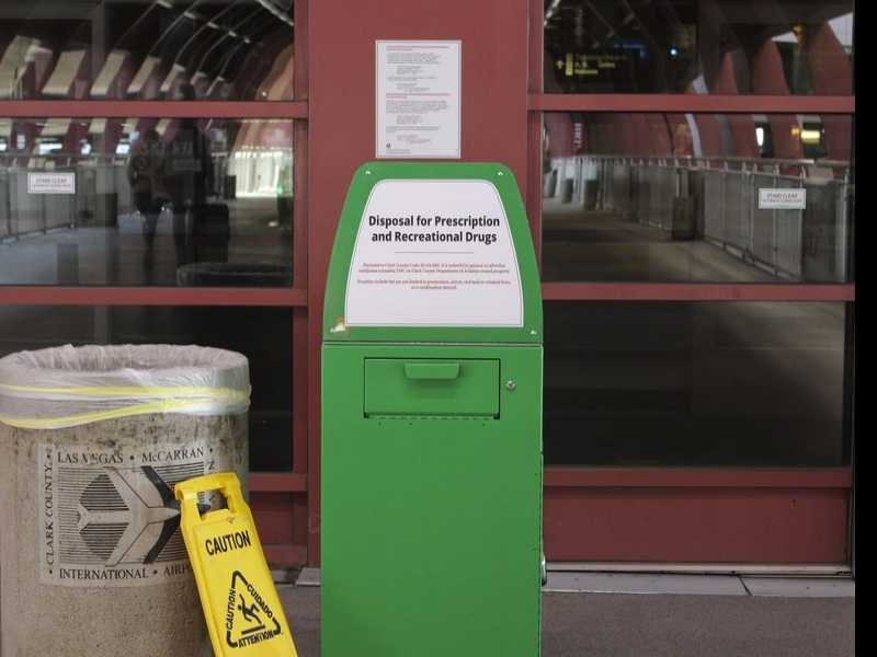 Las Vegas Airport Lets People Dump Pot