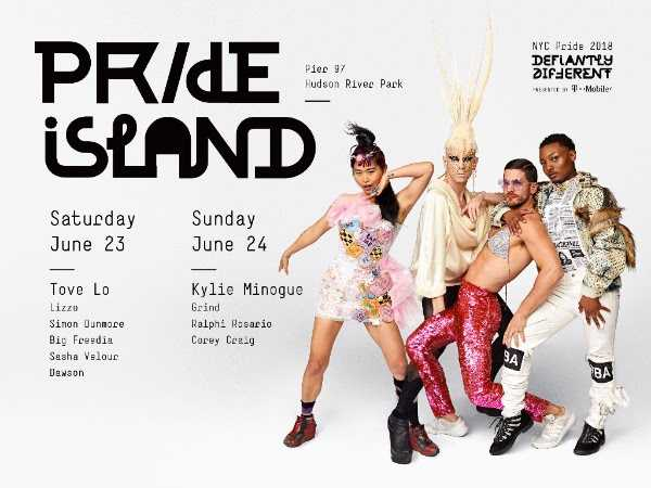 New Location & Line Up Announced for Pride Island!