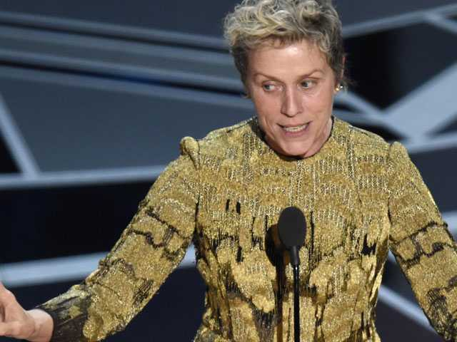 Frances McDormand Brings 'Inclusion Rider' Into Spotlight