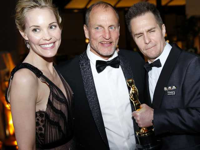 Stars Let Loose at Oscar Parties Marking Awards Season's End