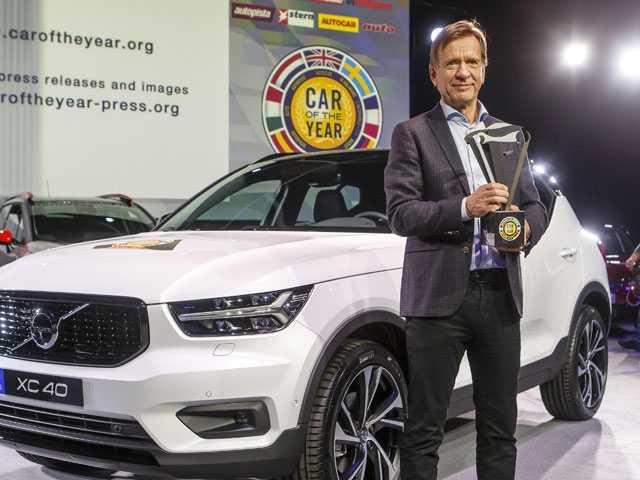 Volvo XC40, A Compact SUV, Wins Car of Year Award in Geneva