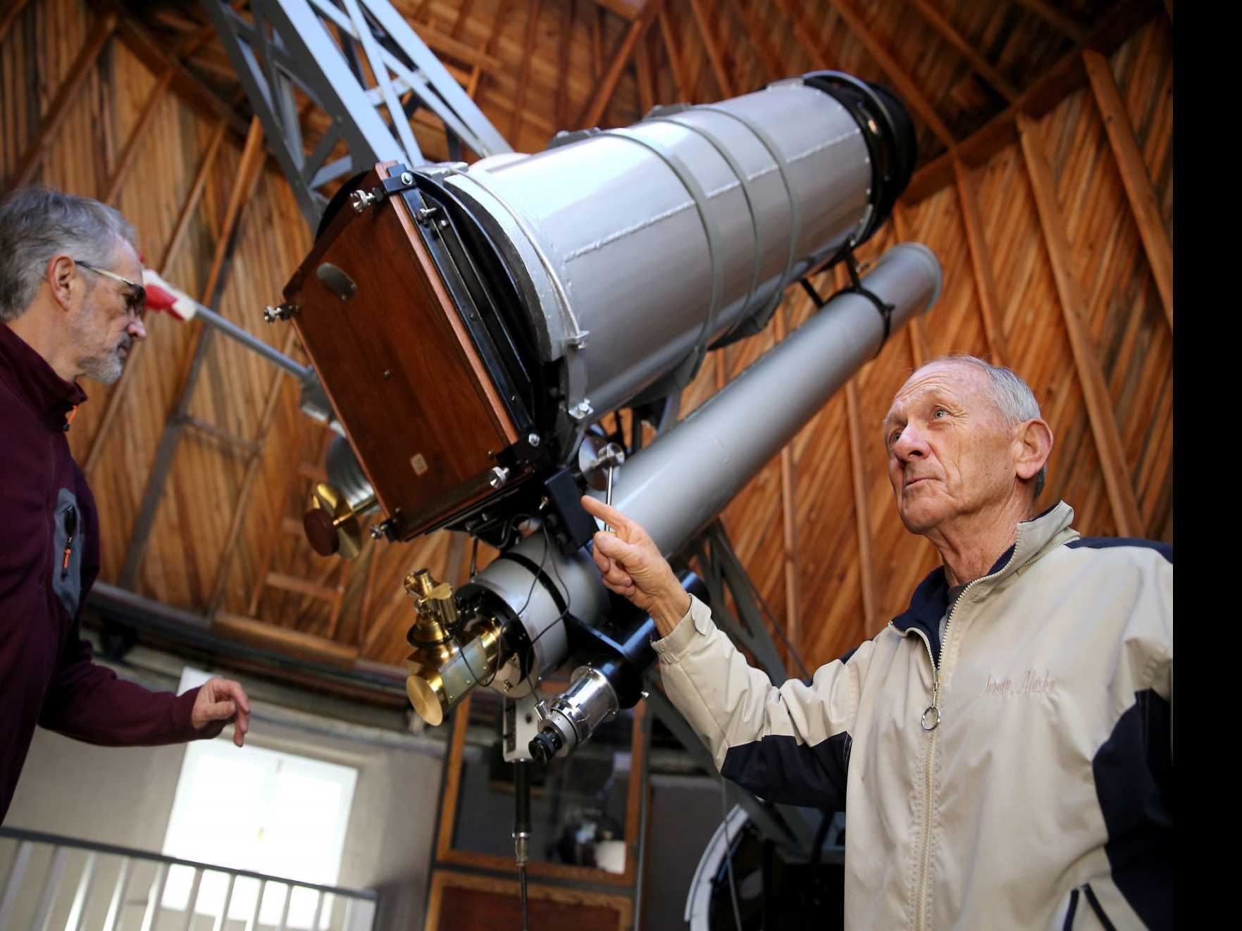 Repairs Completed on Lowell Observatory's Pluto Telescope