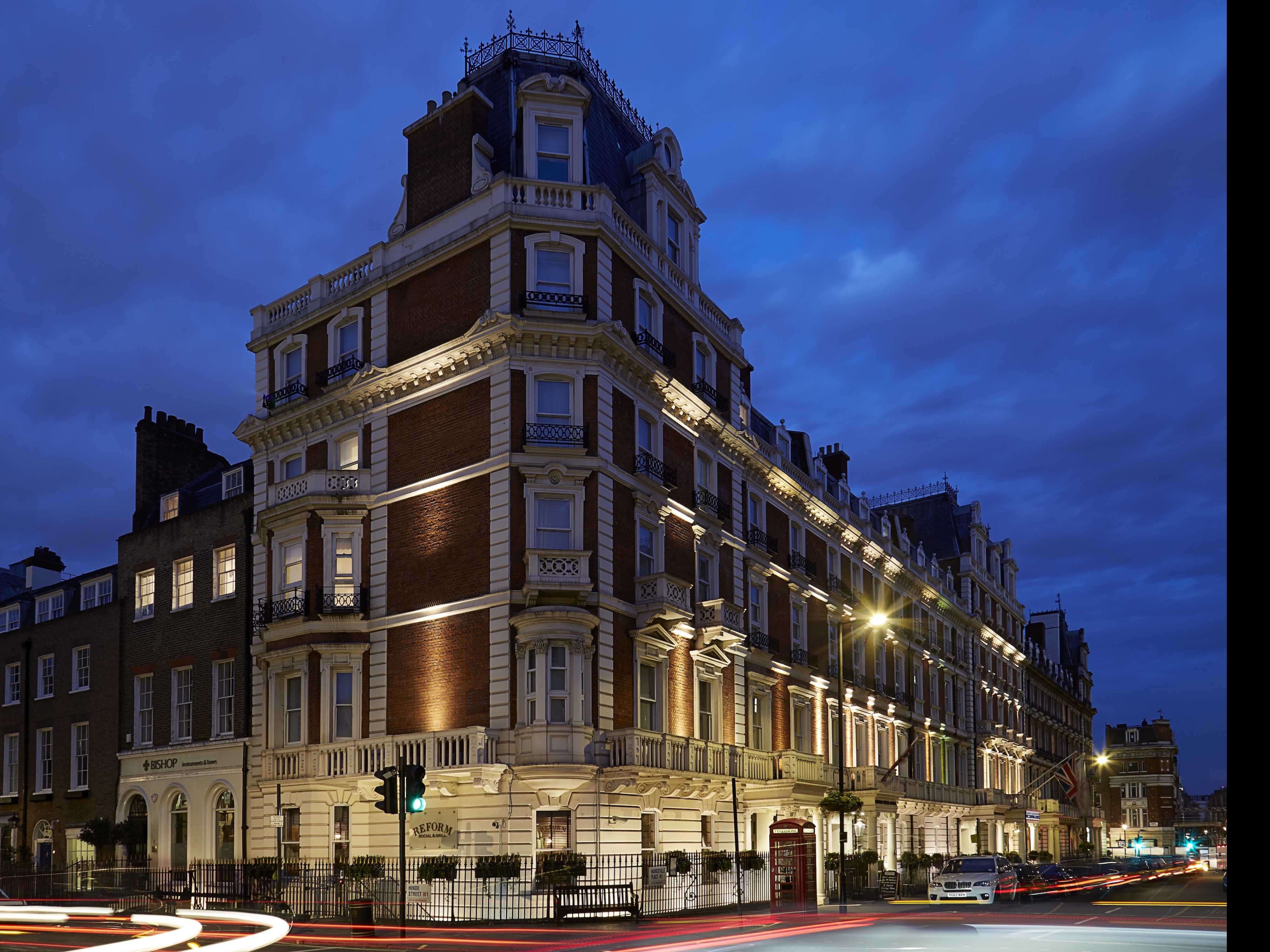 Slumber Party: The Mandeville Hotel, London