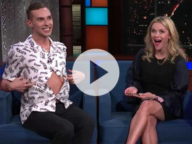 Watch: Adam Rippon Superfan Reese Witherspoon Meets Out Athlete in Hilarious Interview