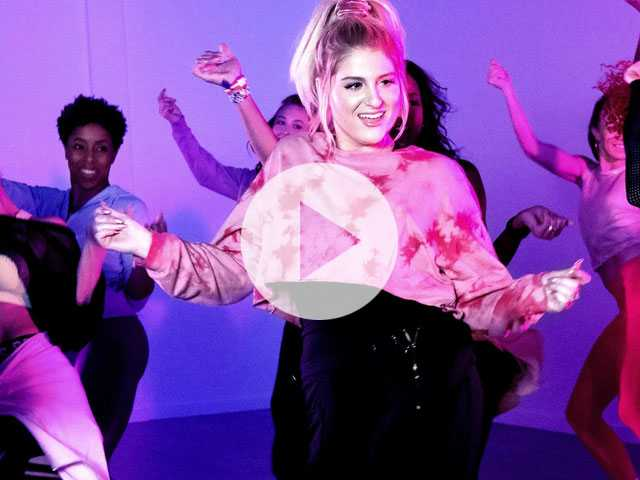 Watch: Behind the Scenes at Meghan Trainor Zumba Video