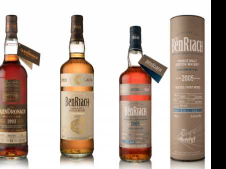 Limited-Edition BenRiach and GlenDronach Scotch Releases