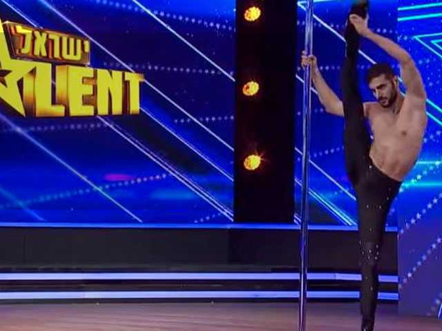 Watch: Male Pole Dancer in Heels Slays, Gets Standing Ovation on 'Israel's Got Talent'