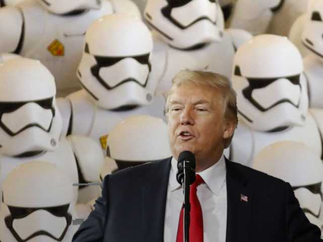 Star Wars? President Trump Proposes Military Space Force