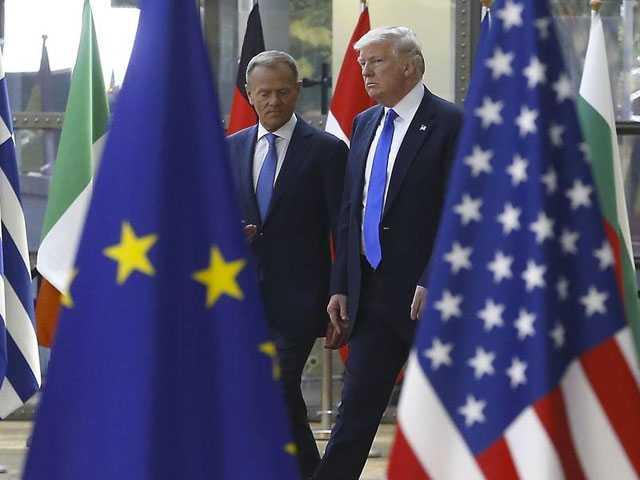 EU Appeals to Trump: 'Make Trade, Not War'