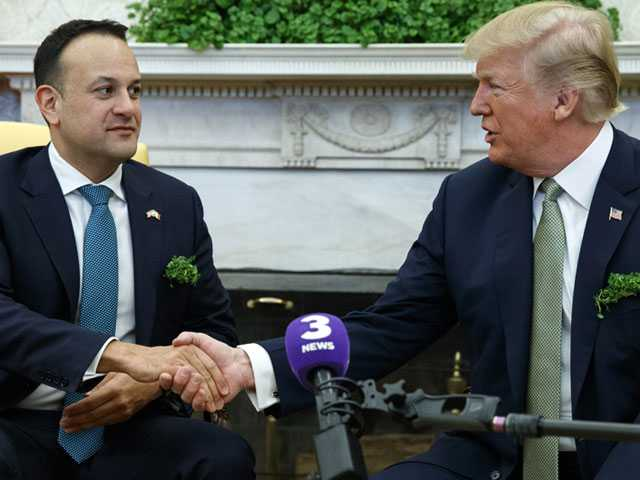 Trump Welcomes Out Irish Prime Minister to White House