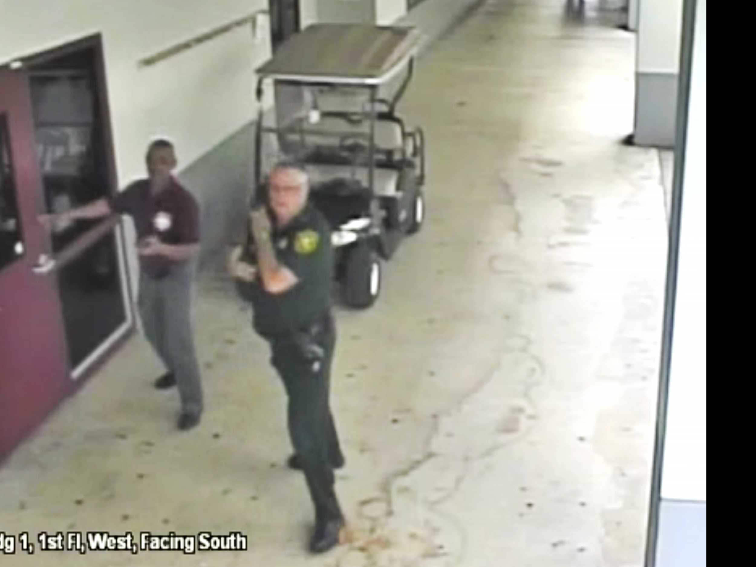 Video: Deputy Never Entered Building During School Massacre