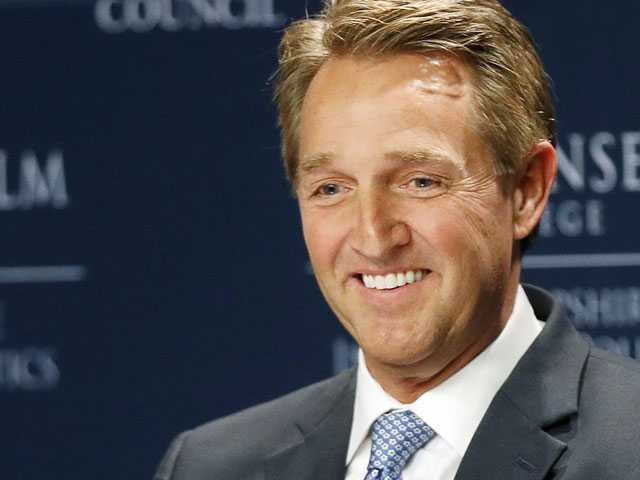 Sen. Jeff Flake Eyes 2020 Primary Challenge to Stop Trump