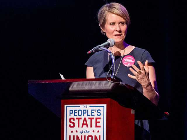 'Sex in the City' Star Cynthia Nixon Running for Governor