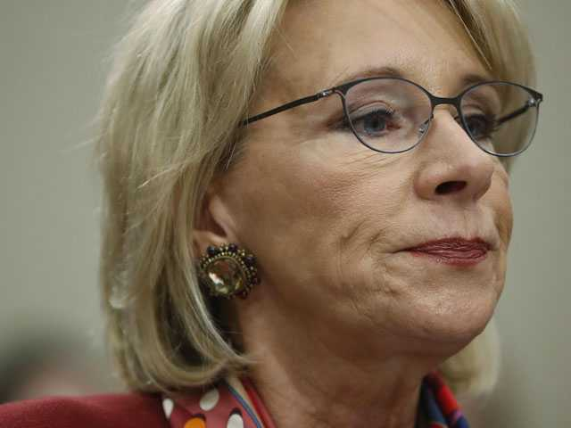 DeVos Faces Withering Criticism in House Hearing