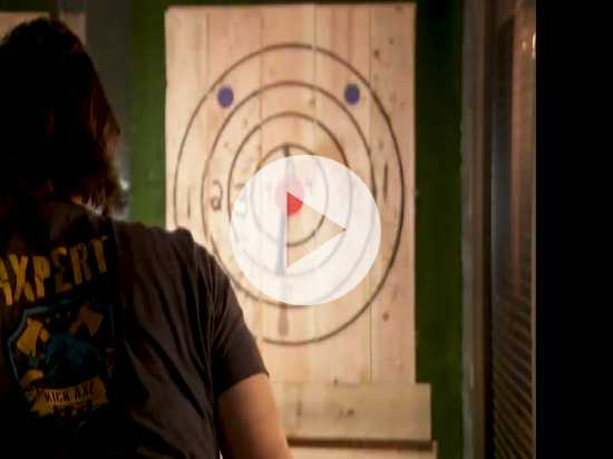 Beer and Sharp Objects? Axe Throwing Takes Off