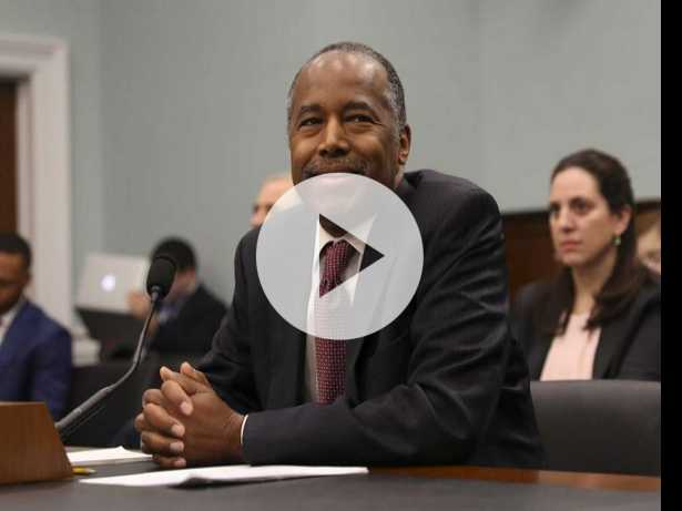 Watch: HUD Head Ben Carson Trashes LGBTQ Training Guidelines, Cites Cis Women