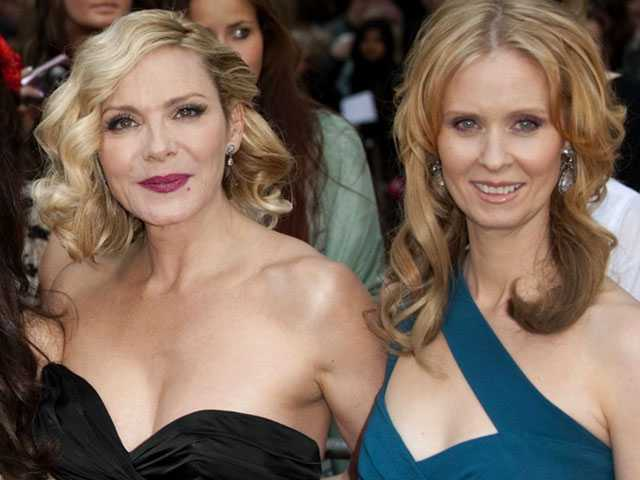 Despite Feud, Kim Cattrall Tweets Support for Cynthia Nixon's Gubernatorial Run