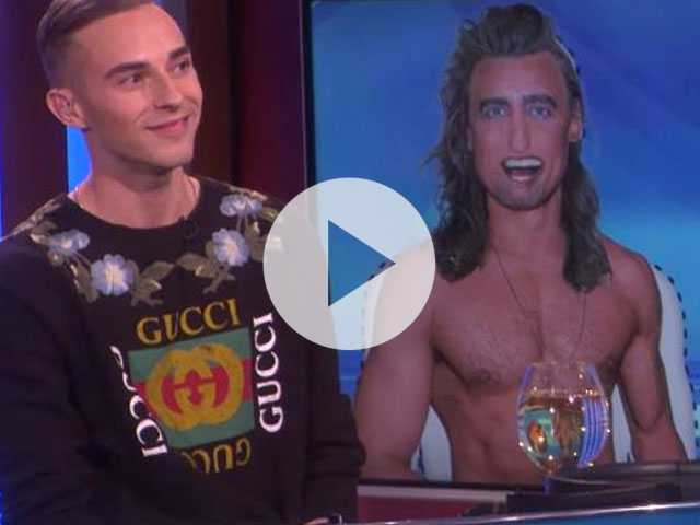 Watch: Adam Rippon Returns to 'Ellen' to Find His Perfect Man