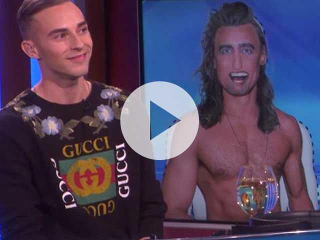 Watch: Adam Rippon Returns to 'Ellen' to Find His Perfect Man