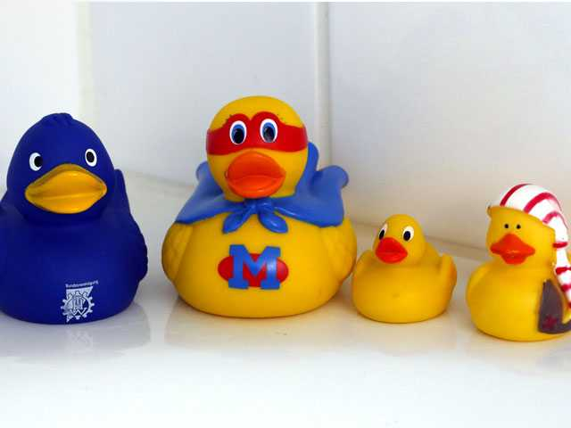 Yucky Ducky? Study Reveals Bath-Time Toy's Dirty Secret