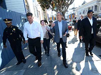 Changes Made After Mayor, Sheehy Tour Castro