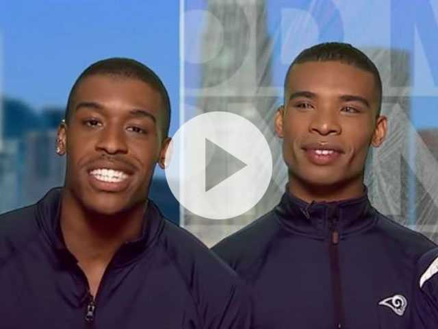 Watch: Get to Know the NFL's 1st Male Cheerleaders