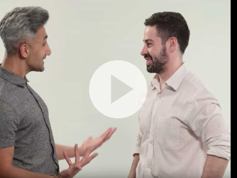 Watch: 'Queer Eye' Style Guy Tan France Makes Over Your Look in 30 Seconds