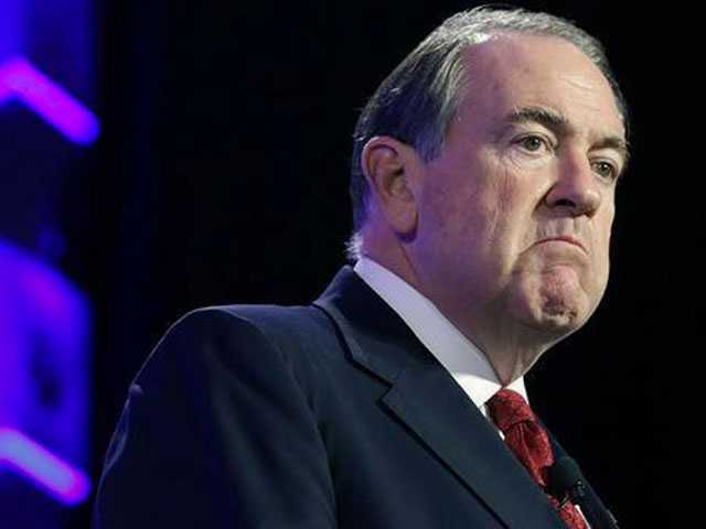 Mike Huckabee Gets Anally Probed... and Makes a Butt Joke