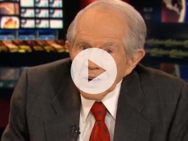 Watch: Pat Robertson Says LGBTQ People Have 'Infiltrated' Society, 'Dominating' Straight People