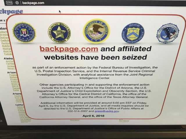 Prosecutors: Backpage.com Made Millions in Prostitution Ads