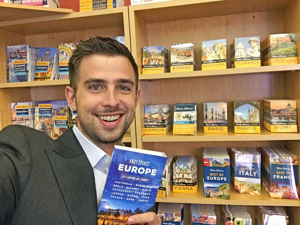 Andy Steves: Travel Guidebook & Tours For a New Generation