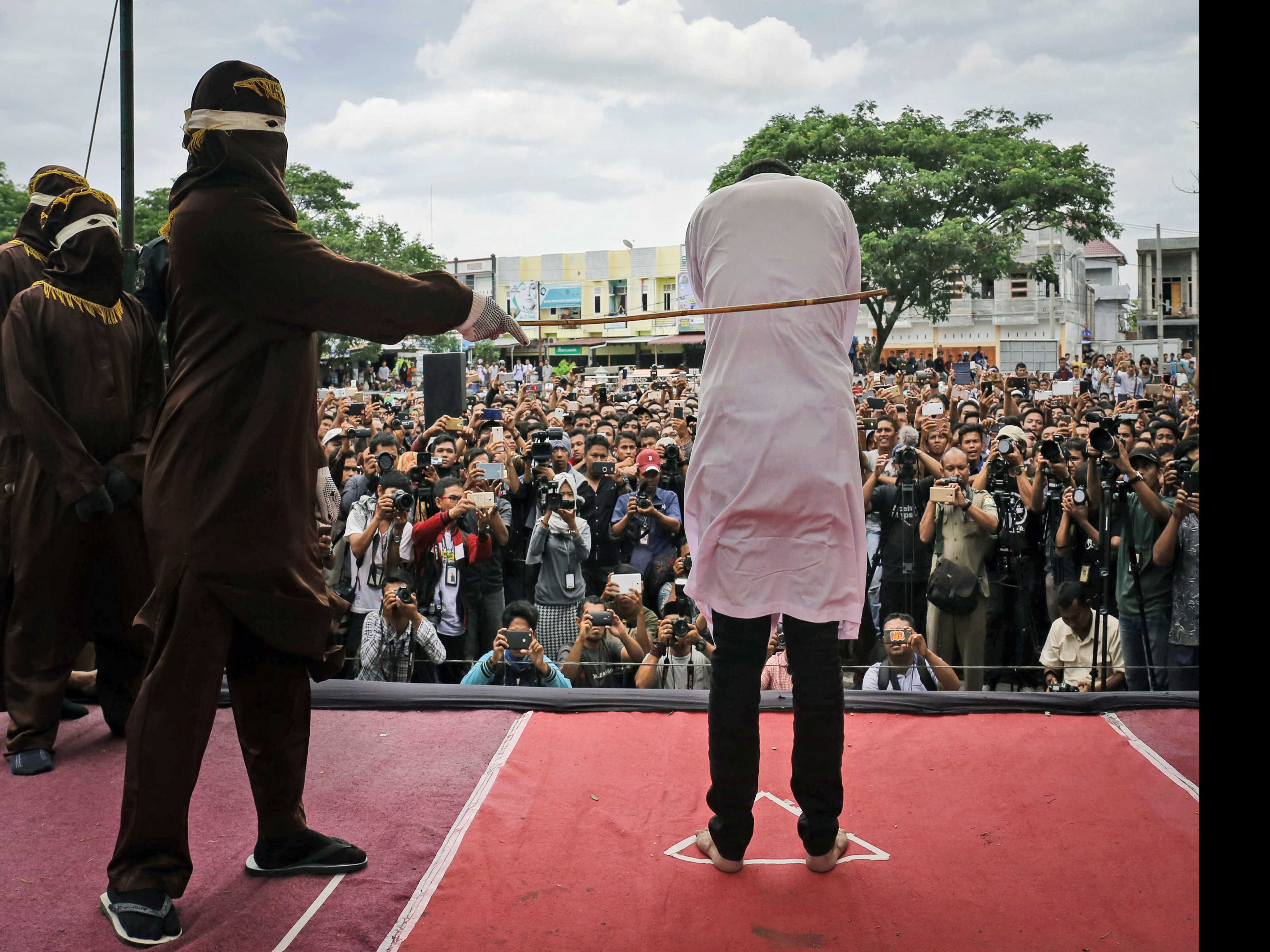 Indonesia's Aceh to Take Caning Indoors After Backlash