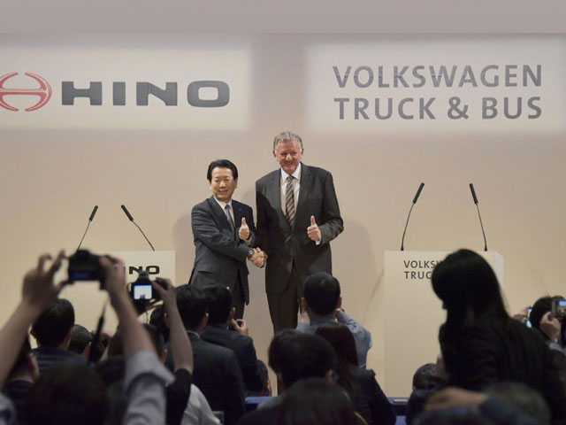 Hino, VW Partner on Hybrids, Autonomous Drive, Technology
