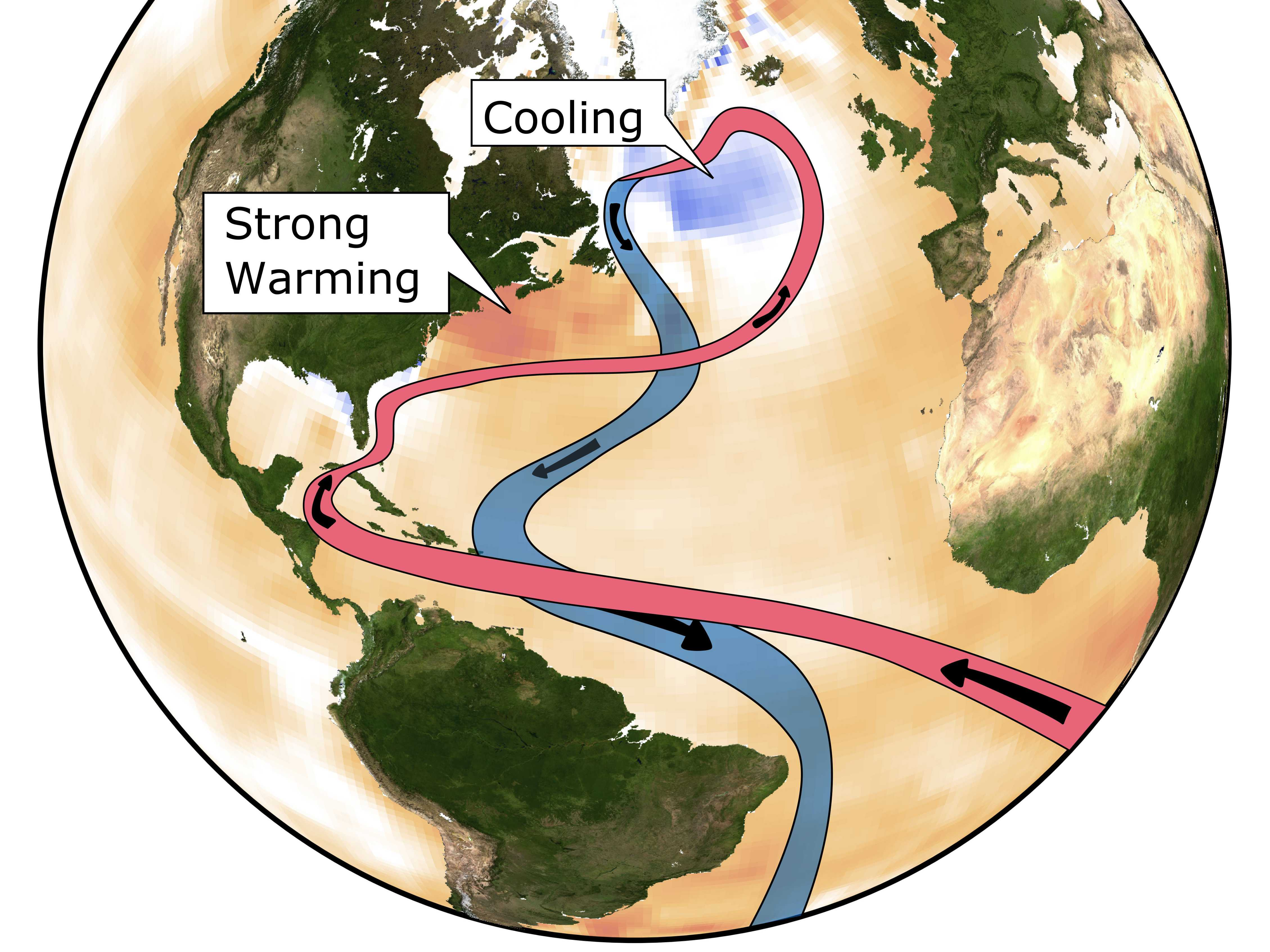 Study: Global Warming is Weakening Key Ocean Circulation